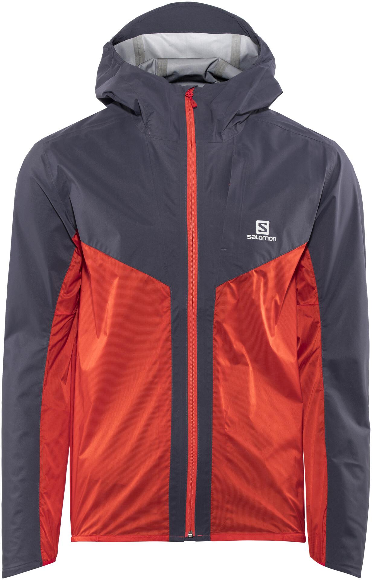 Salomon Outspeed Hybrid Jacket Jkt M (Graphite fiery red